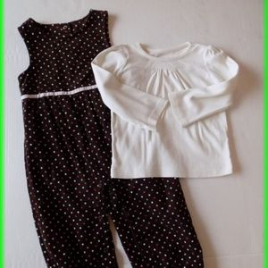 Gymboree Sweeter Than Chocolate Set Jumper Size 3T